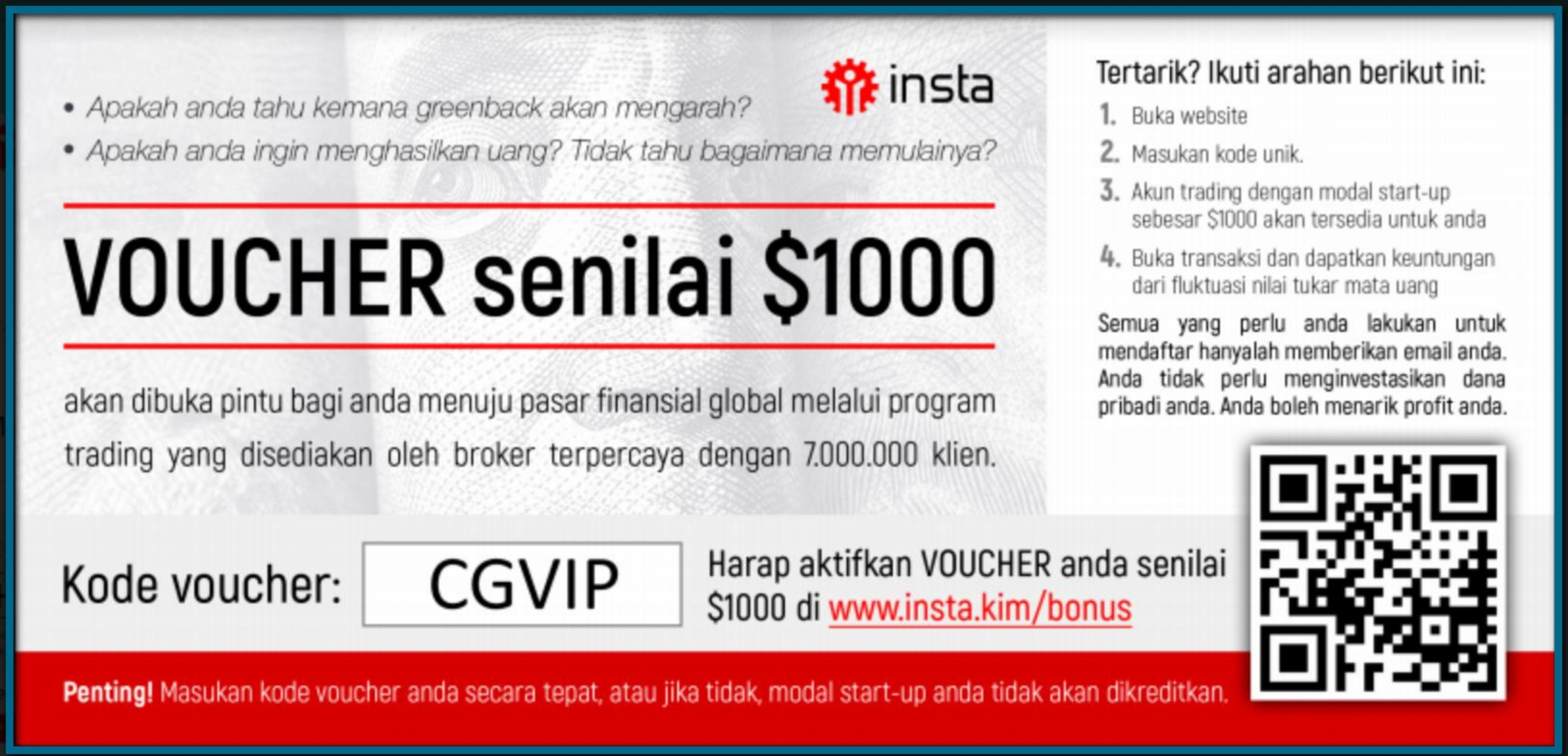 Cara Withdraw Bonus Start Up $1000